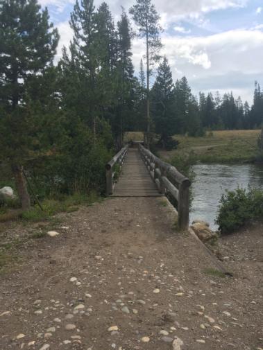 Bridge across Jenny Lake outlet