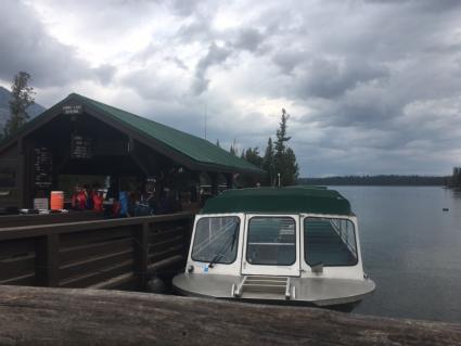 Jenny Lake Boat Shuttle
