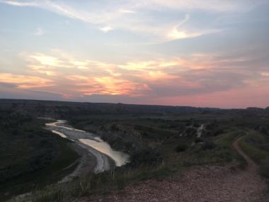 wind canyon sunset 2