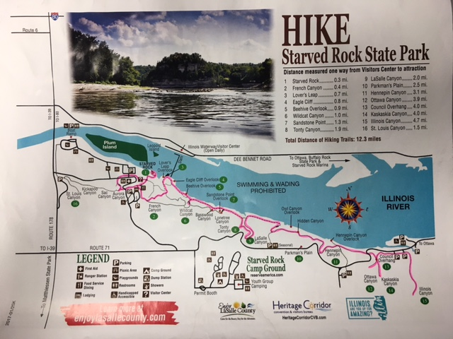 starved rock trail map