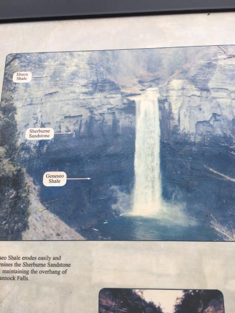 taughannock falls sign