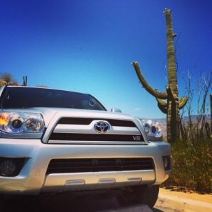 Drive to Saguaro National Park