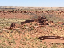 See what apartment complexes looked like 1130 AD at Wupatki National Monument